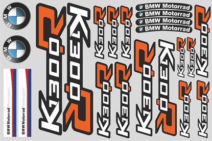 "Picture of ""K 1300R "" BMW  Sticker Sheet"