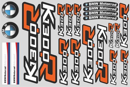 "Picture of ""K 1300R "" BMW  Sticker Sheet"