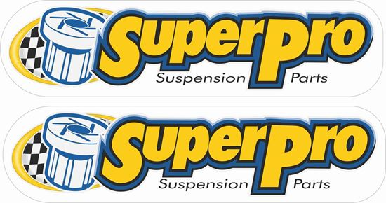 """Picture of """"Super Pro"""" Decals / Stickers"""