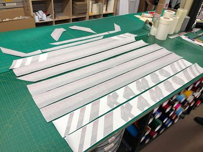 Picture of T25 / T3 Kameo Restoration Decals / Stripes