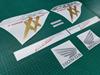 Picture of Honda CBR Super Blackbird 2002 - 2004 full replacement  Decals / Stickers