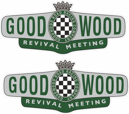 Picture of Goodwood Revival Meeting Decals / Stickers