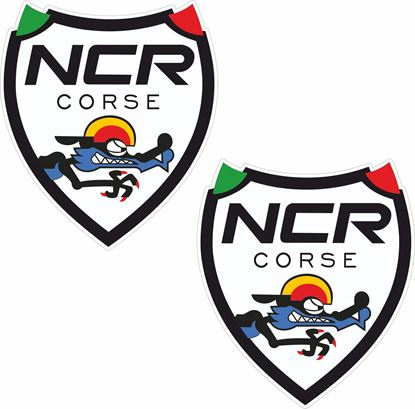 "Picture of Ducati ""NCR Corse"" Shield Decals / Stickers"