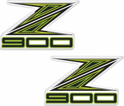 Picture of Kawasaki Z900 Decals / Stickers