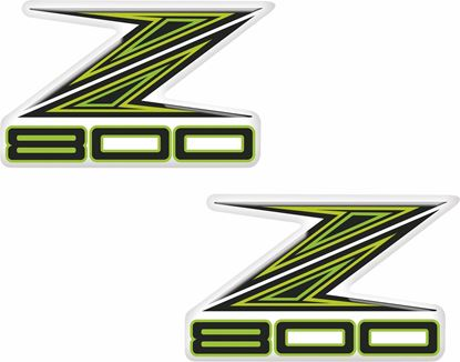 Picture of Kawasaki Z800 Decals / Stickers