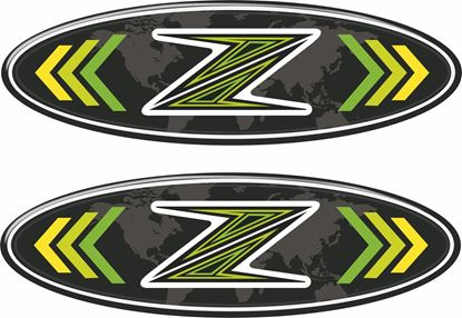 Picture of Kawasaki Z Decals / Stickers