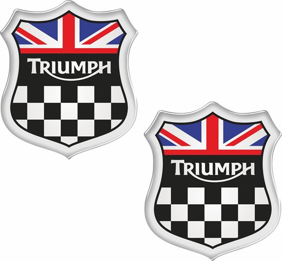 """Picture of """"Triumph"""" Decals / Stickers"""