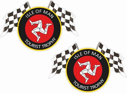 Picture of Isle of Man Tourist Trophy Decals / Stickers