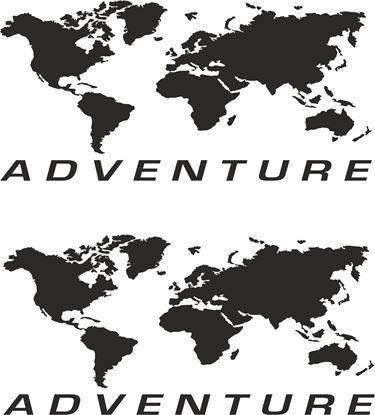 "Picture of Givi / Touratech Pannier ""Adventure"" Decals / Stickers"