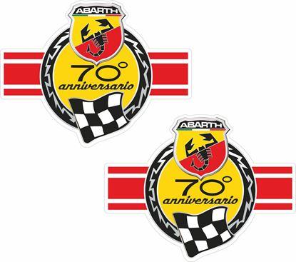 Picture of Fiat  Abarth 70 anniversario Stickers / Decals