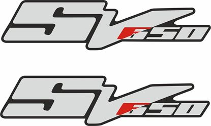 Picture of Suzuki SV 650 Decals / Stickers