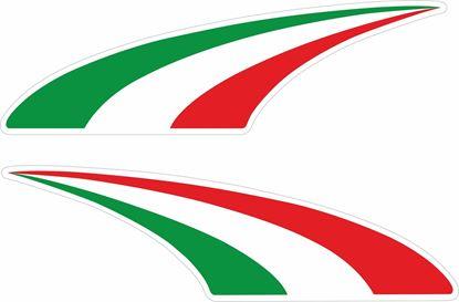 Picture of Italia Swoosh Decals / Sticker