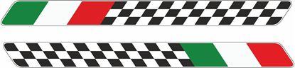 Picture of Italia Chequer Decals / Sticker