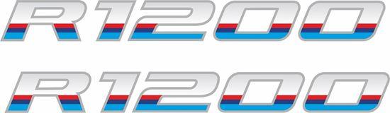 Picture of BMW R1200  Pannier / Panel  Decals / Sticker