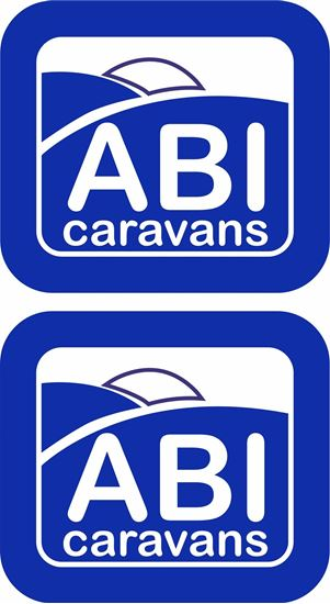 "Picture of ""ABI Caravans"" panel Decals / Stickers"