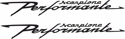 "Picture of Fiat  ""Scorpione Performante"" Decals / Stickers"