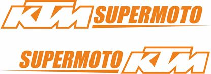 "Picture of ""KTM Supermoto""  Decals / Stickers"