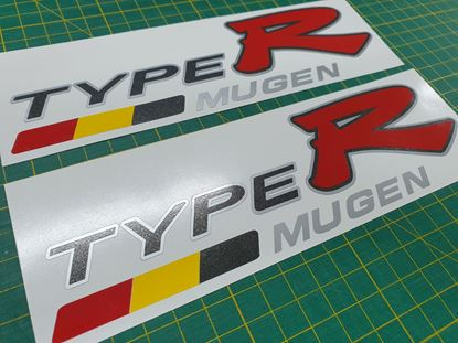 Picture of Honda Civic EP3 Type R Mugen side Decals / Stickers