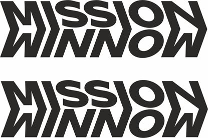 """Picture of """"Mission Winnow"""" Panel / Tank  Decals / Stickers"""