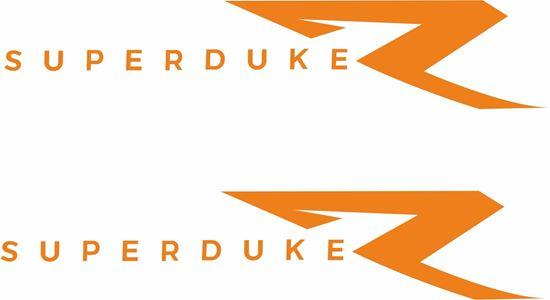 "Picture of KTM  ""Super Duke R""  Decals / Stickers"