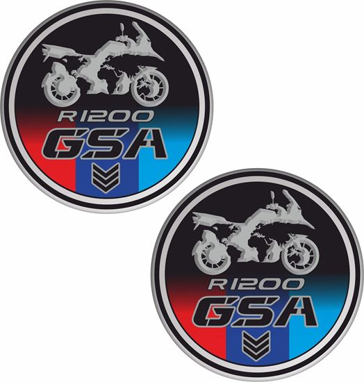 Picture of BMW R 1200GS Globe Decals / Stickers