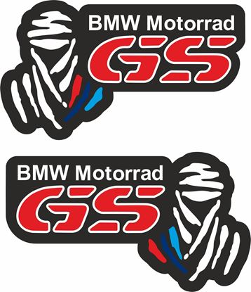 Picture of BMW Motorrad GS Dakar Pannier / Panel  Decals / Stickers