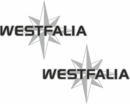 Picture of T3  / T25 / T4 Westfalia Compass Decals / Stickers