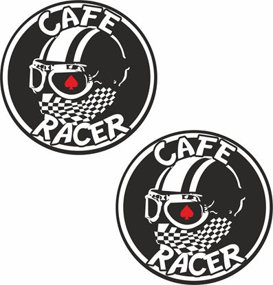 "Picture of ""Cafe Racer"" Decals / Stickers"
