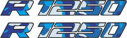 Picture of BMW R1250  Pannier / Panel  Decals / Sticker