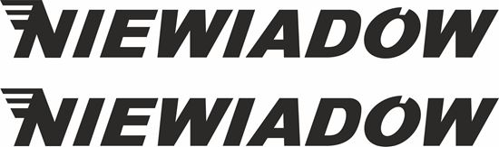 Picture of Niewiadow Decals / Stickers
