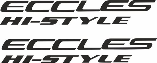 """Picture of Swift """"Eccles in-Style""""  Decals  / Stickers"""