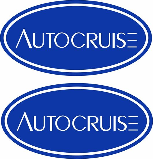 "Picture of Swift ""Autocruise"" Decals  / Stickers"