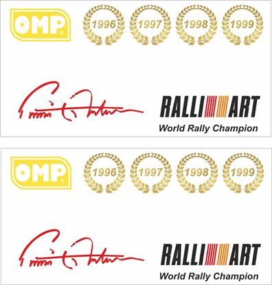 Picture of Mitsubishi Evolution 6 Tommi Makinen Decals / Stickers