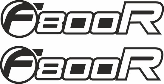 Picture of BMW F 800R  Decals / Stickers