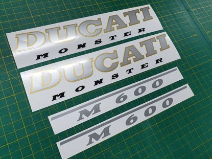 Picture of Ducati Monster M600 1993 - 1997 replacement Decals / Stickers