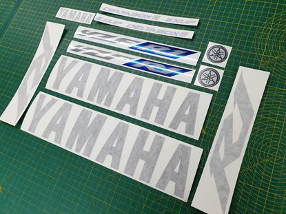 Picture of Yamaha YZF R1 2002  Replacement Decals / Stickers Custom Colours