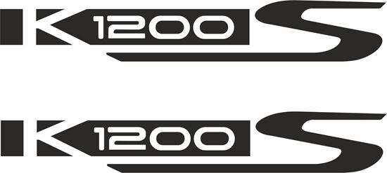 Picture of BMW K 1200S Decals / Stickers
