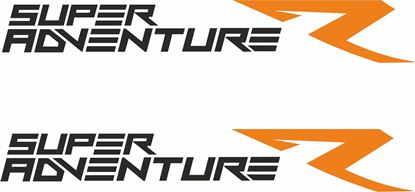 Picture of KTM Super Adventure R  replacement Decals / Stickers