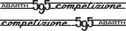 "Picture of Fiat  ""Abarth 595 Competizione"" Decals / Stickers"