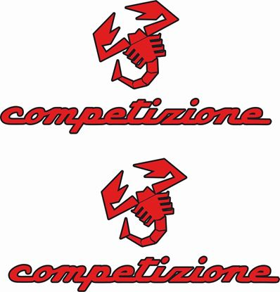 "Picture of Fiat  595 ""Competizione Stickers / Decals"