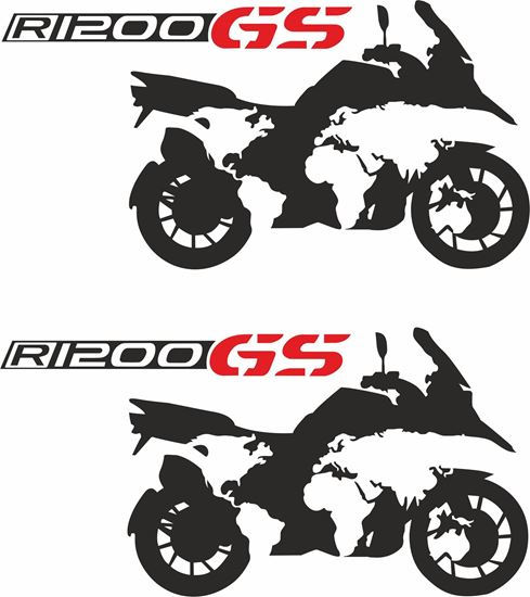 Picture of BMW R 1200GS  Decals / Stickers