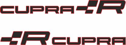"Picture of Seat ""Cupra R"" Decals / Stickers"