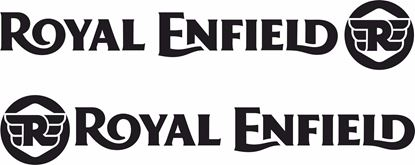 Picture of Royal Enfield panel or Tank Decals / Stickers
