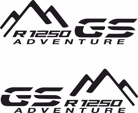 Picture of BMW R 1250GS Adventure Pannier / Panel  Decals / Stickers