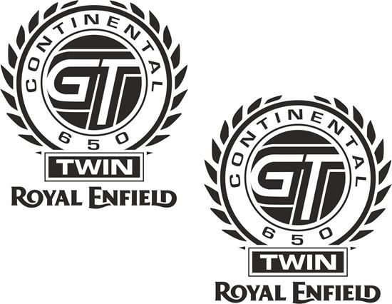 Picture of Royal Enfield Continental GT 650 panel or Tank Decals / Stickers