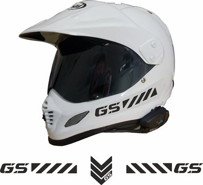 "Picture of Arai Tour Helmet ""GS"" Reflective Decals  / Stickers"
