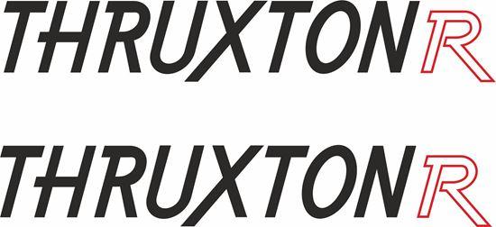 "Picture of Triumph ""Thruxton R""  Decals / Stickers -"