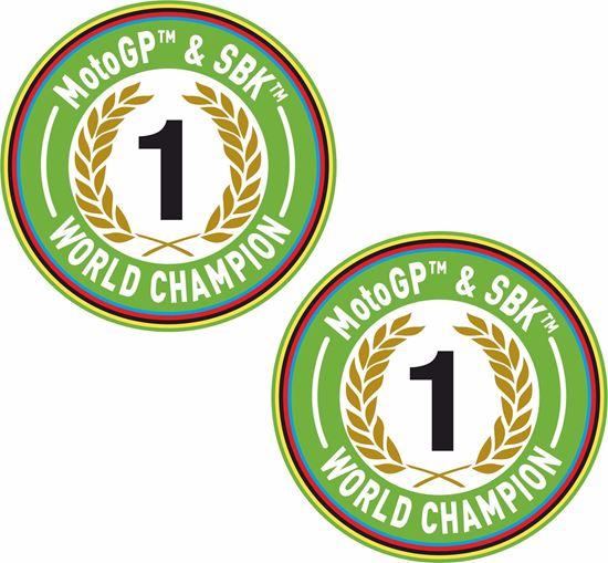 Picture of MotoGP & SBK World Champion Decals / Sticker