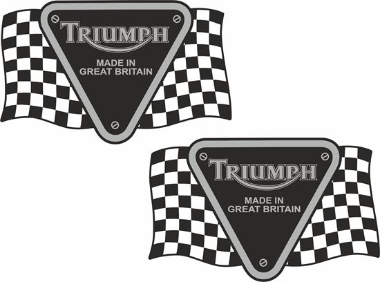 Picture of Triumph Made in Britain Decals / Stickers