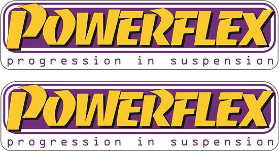"""Picture of """"Powerflex"""" Decals / Stickers"""